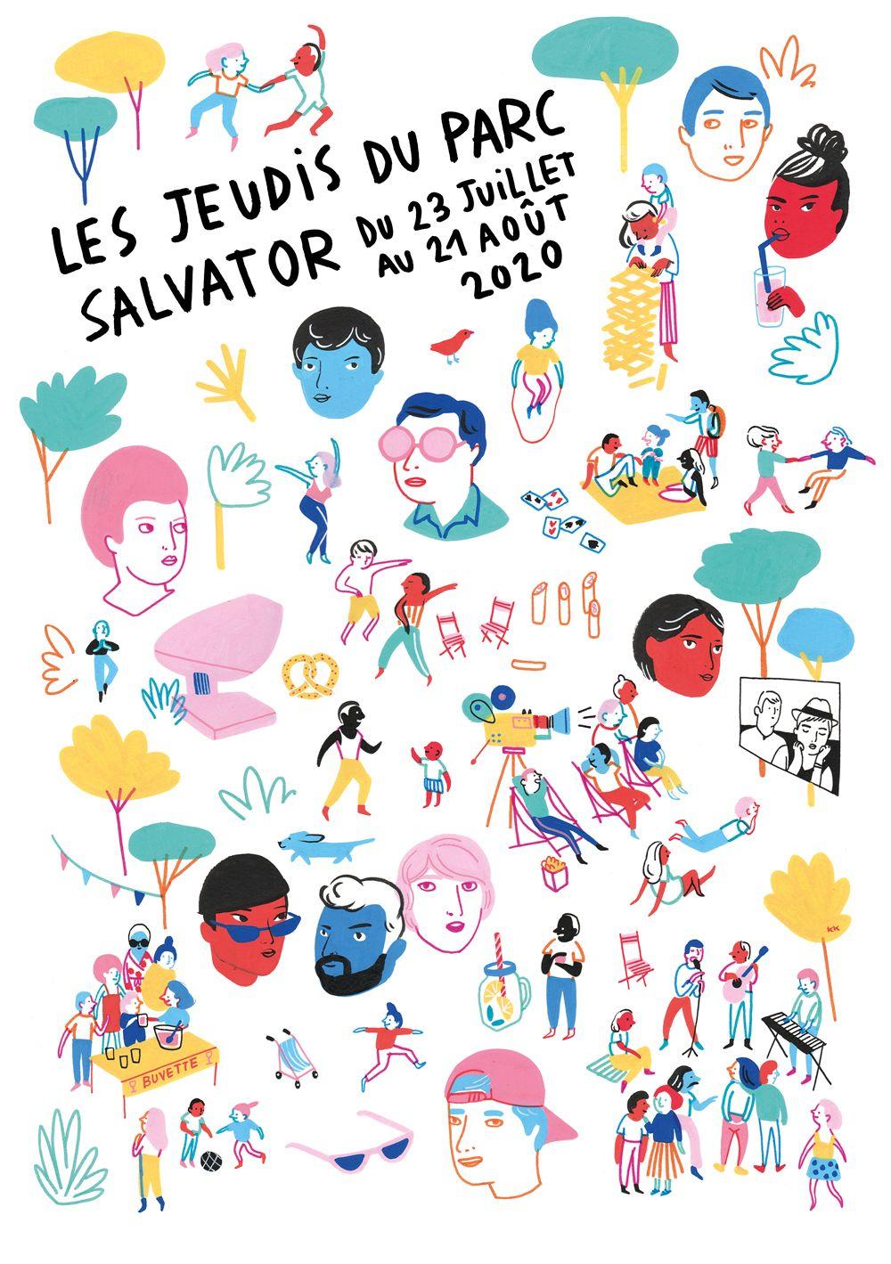 Les Jeudis du Parc Salvator 2020 à Mulhouse