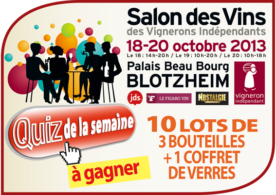 Salon des vins et des vignerons ind pendants blotzheim for Salon des vins independants