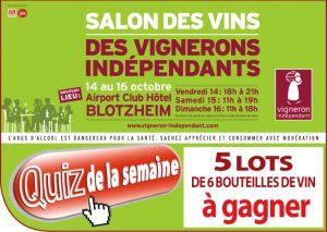 Salon des vignerons indépendants de Blotzheim
