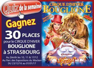 Cirque Bouglione à Strasbourg