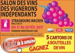 Salon des vins des vignerons ind pendants strasbourg - Salon des vignerons independants bordeaux ...