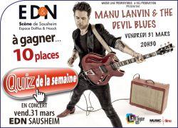 Manu Lanvin & The Devil Blues
