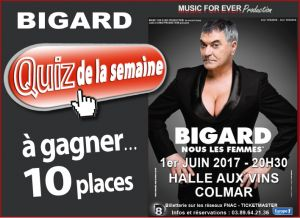 Jean Marie Bigard à Colmar